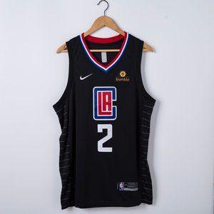 Men's LA Clippers Leonard Nike black Jersey
